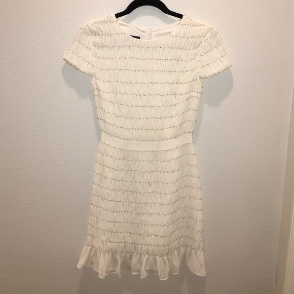 7c79a7abac Armani Exchange Party Dress Armani Exchange beaded dress with capped  sleeves. Size 0 petite.