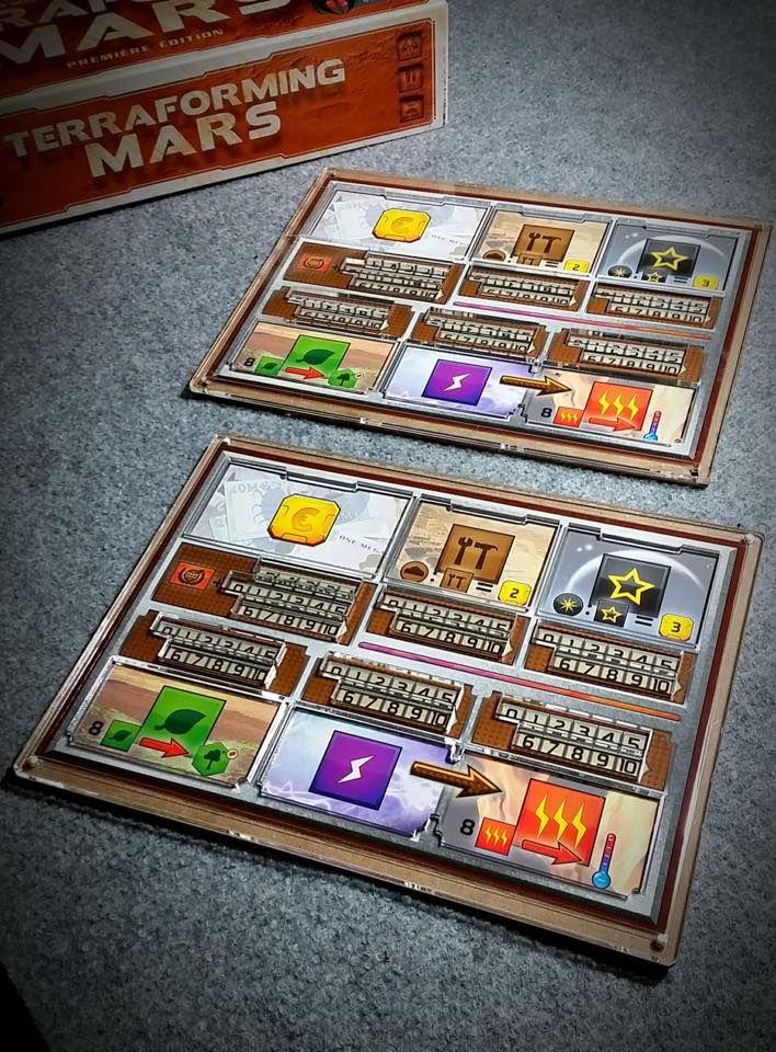 Resultado de imagem para terraforming mars player boards