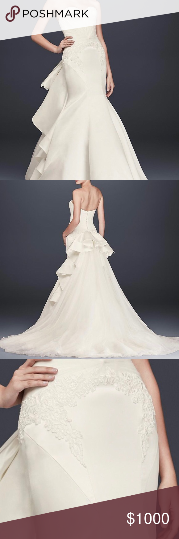 Zac posen wedding dress  Truly ZAC POSEN Wedding gown  Zac posen wedding gowns Zac posen