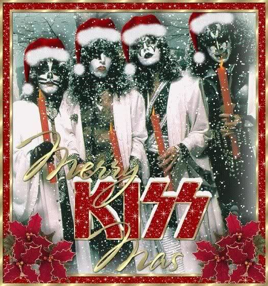 Merry Kissmas Rocktheholidays Christmas Merry Kissmas Kiss Band Merry