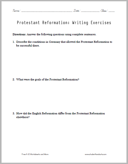 protestant reformation essay questions   free to print pdf file  protestant reformation essay questions   free to print pdf file