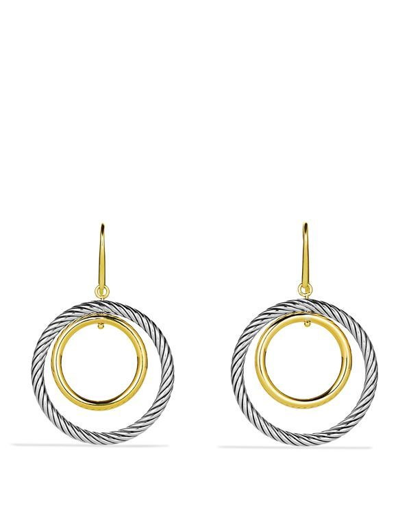 David Yurman Mobile Earrings with Gold