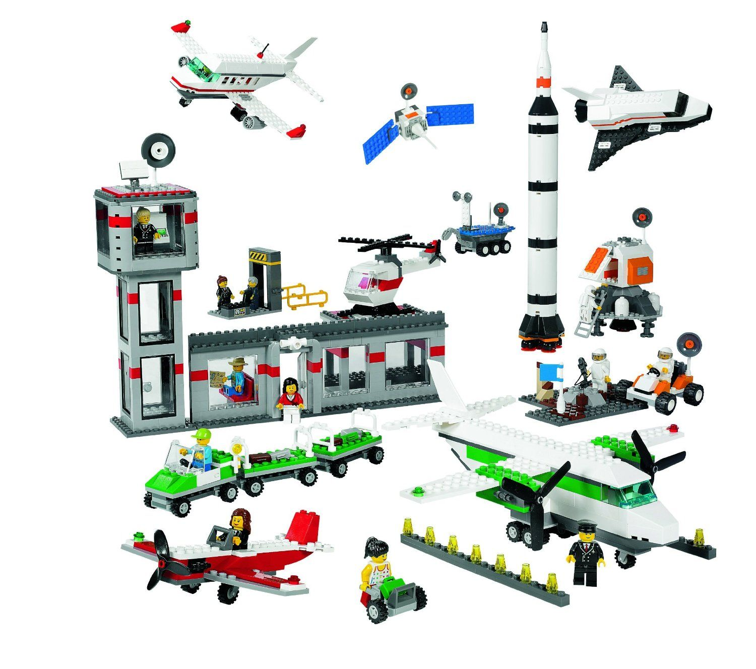 Amazoncom Lego Education Space And Airport Set 4579792 1176