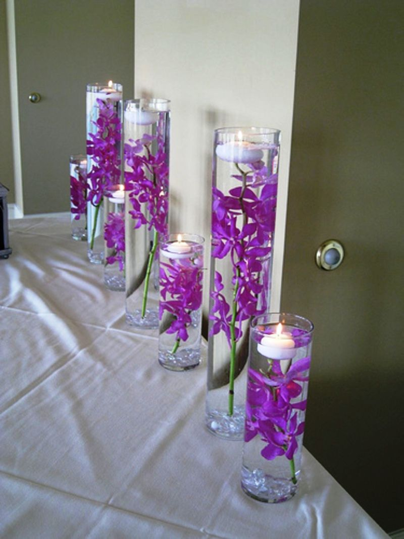 25 Purple Wedding Decorations Ideas