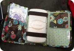 Thirty One mini organizer diaper essentials!