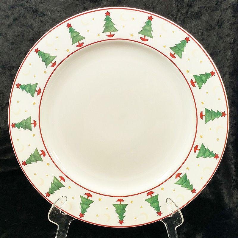 Christmas Plate Set.Debbie Mumm Magic Of Santa Sakura Christmas Dinner Plates