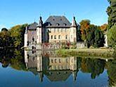 Schloss Dyck im Wasser -  Schloss Dyck im Wasser  - #Dyck #EnglischerLandschaftsgarten #LandschaftsgartenPlan #schloss #wasser #landschaftsgarten
