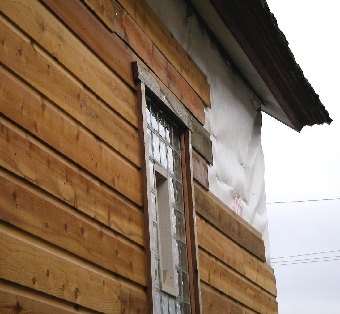 1x8 Dutch Lap Western Red Cedar Siding Customer Ran 10 Feet Short Installing Wood Siding Wood Siding Installing Siding