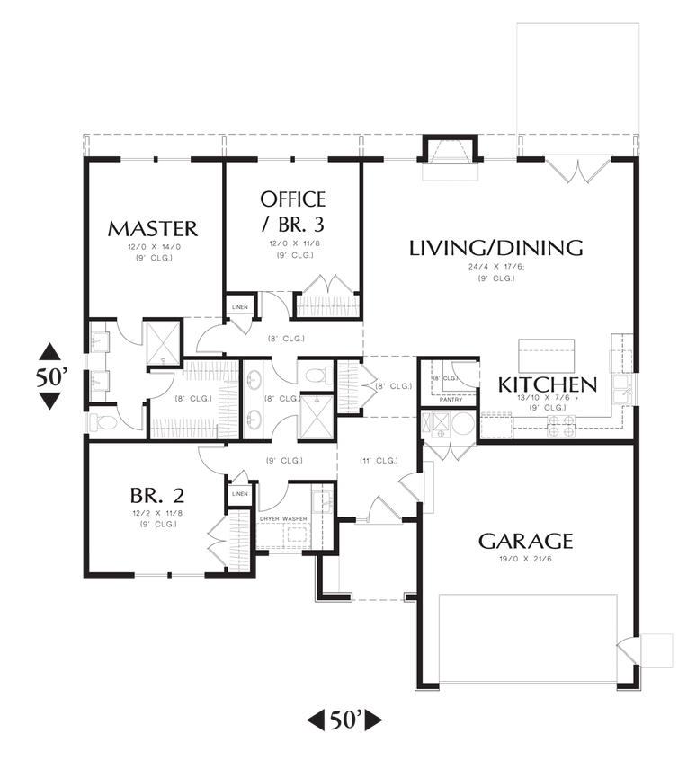 Mascord House Plan 1161es House Plans The O 39 Jays And Of
