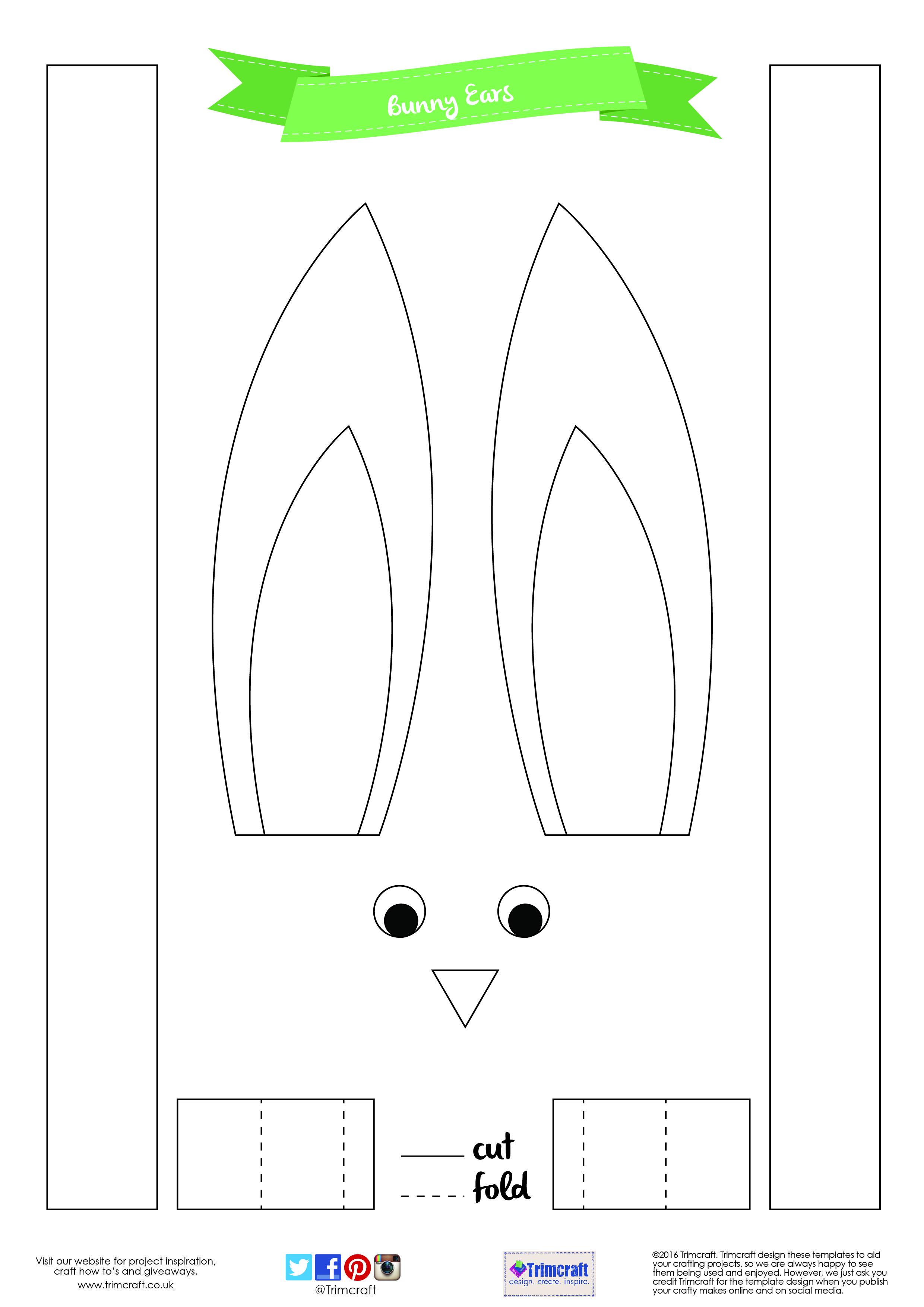 Diy Kids Craft Easter Bunny Pot Tutorial With Printable Template