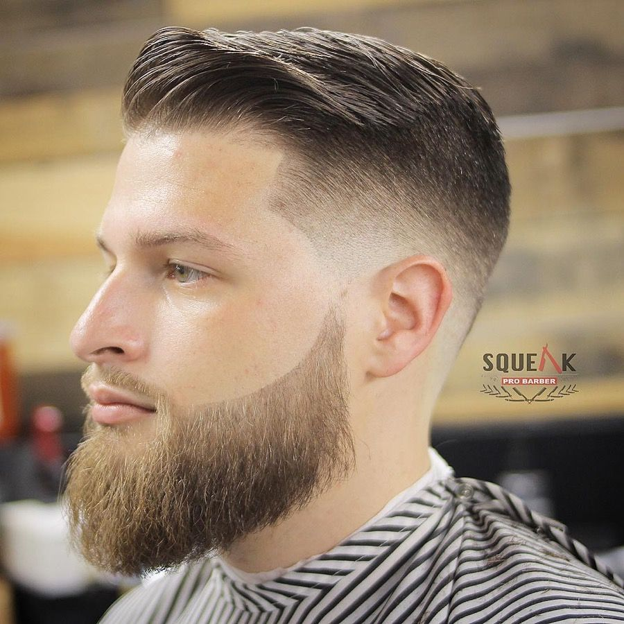 15 Comb Over Fade Haircuts For 2020 Fade Haircut With Beard
