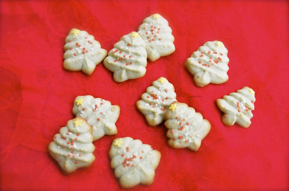 Alberelli di Natale al Pistacchio / Pistachio Christmas Trees