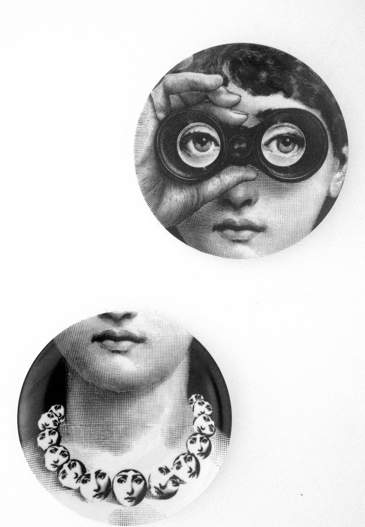 Fornasetti Face Wallpaper Fornasetti Black And White Pinterest Wallpaper Art