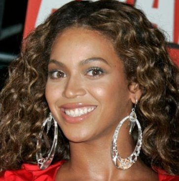 roller set hair styles beyonce wearing hoop earrings hoops earrings 1013 | 2371a3346e1013fa31f4ae43923c79e8