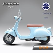 Outdoor Sports] Lithium baterry power retro electric scooter vespa