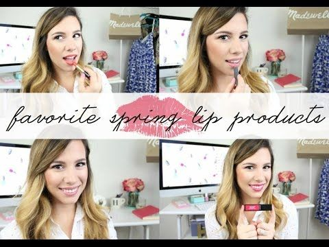 Favorite Spring Lip Colors | hayleypaige