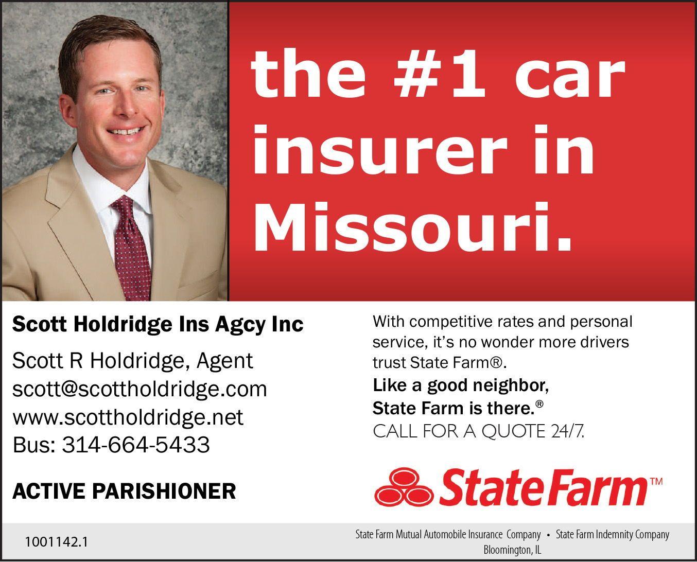 State Farm Agent Holdridge In St Louis Missouri Www