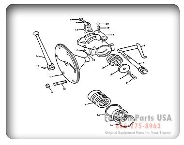 Parts For Your Ford 8n Tractor With Diagrams Tractors For Sale Ford Tractors Tractors