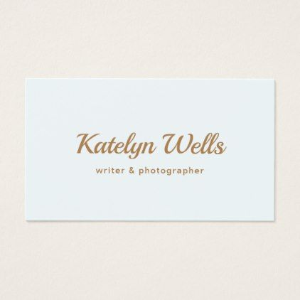 Simple gold handwritten script typography business card simple simple gold handwritten script typography business card simple unique et diy reheart Image collections