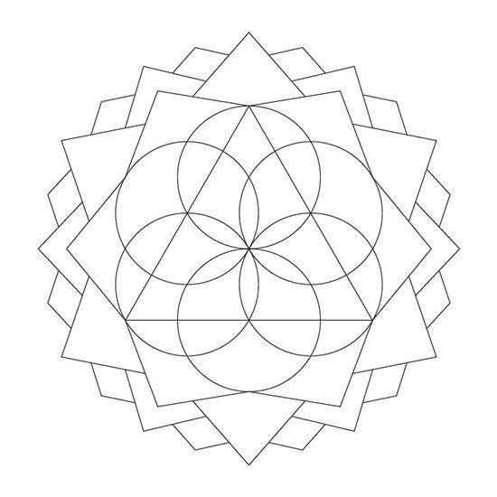 Mandala de Círculos para Imprimir PDF Gratis - Abstracto - Mandalas ...