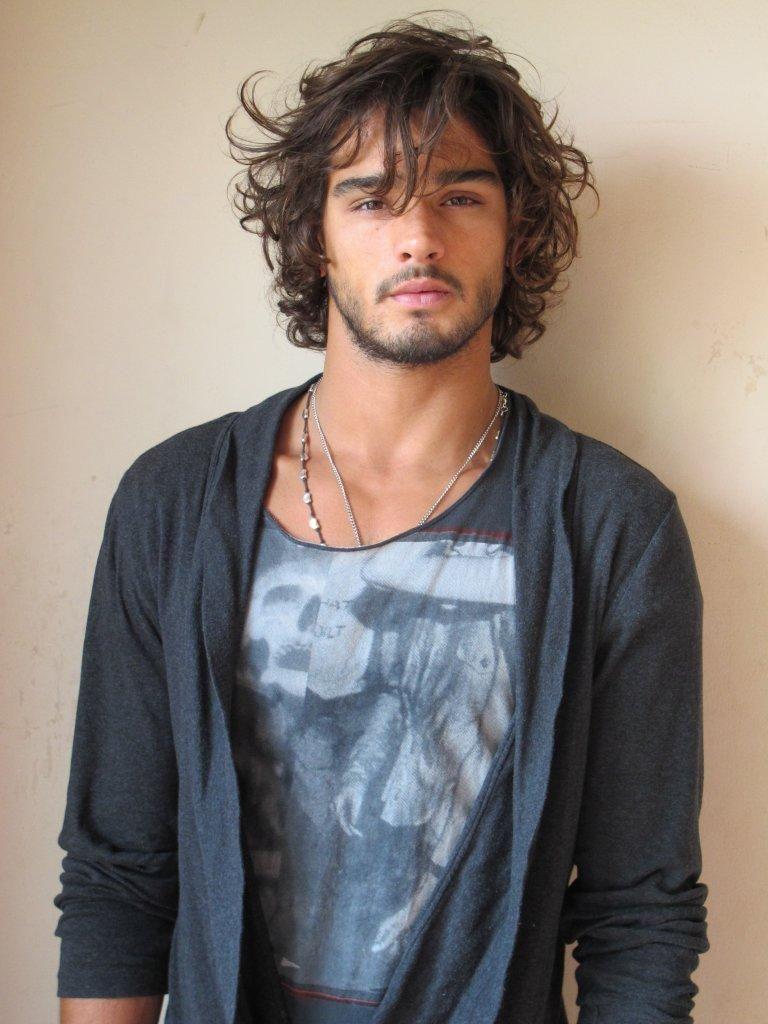 Long hair  Hair men  Pinterest  Marlon teixeira Eye candy and