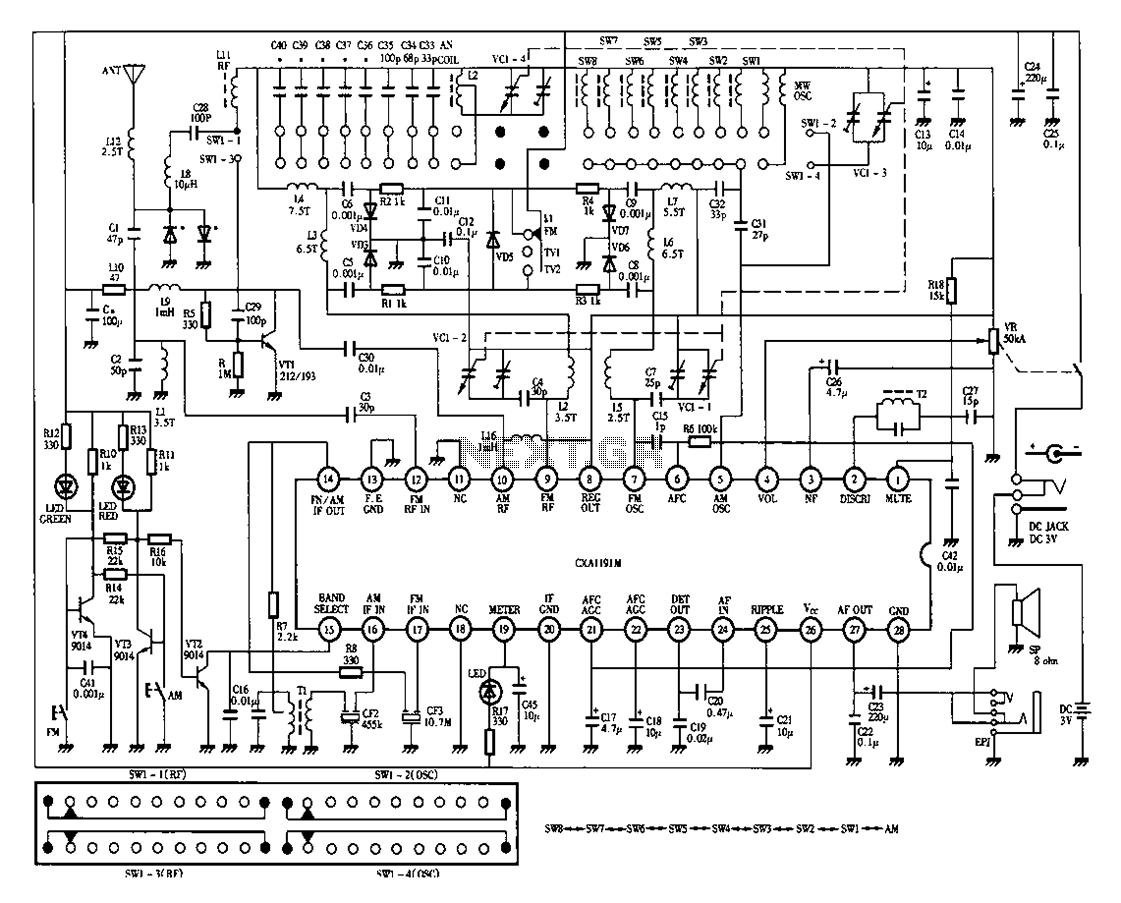 Sansui Tv Circuit Diagram Free Download With Images