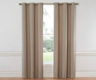 Sundown Cocoa Hampton Thermal Curtain Panel 84 Big Lots Panel Curtains Curtains Blackout Curtains