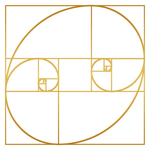Golden oval fine art print by melek design by melekdesign for Golden ratio artwork