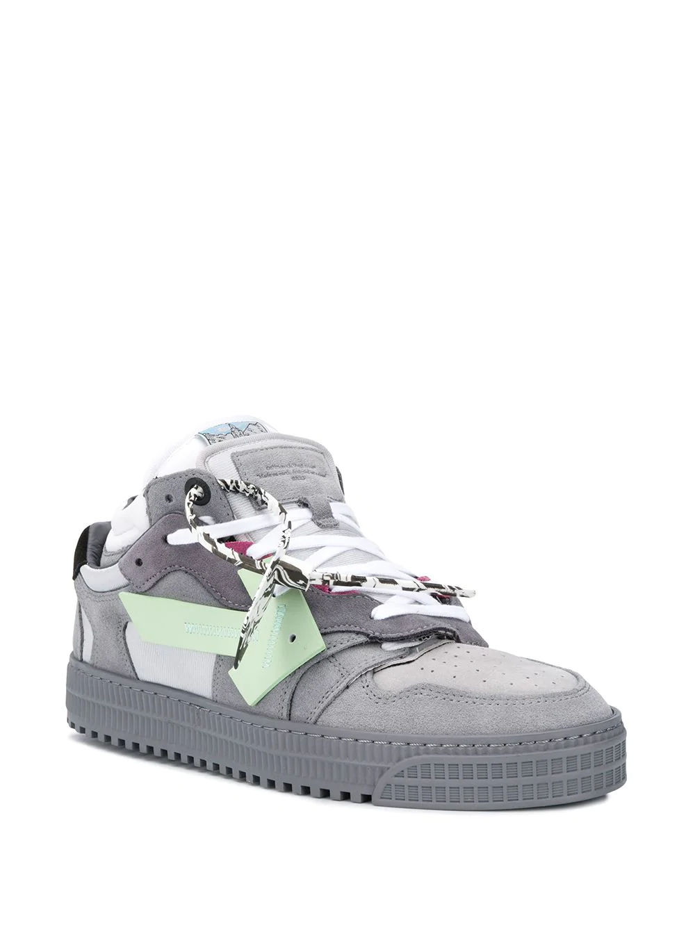 Off White Off Court Low Top Sneakers Farfetch Top Sneakers Sneakers Off White