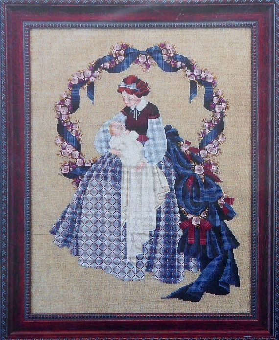 Lavender And Lace Cross Stitch Lavender Lace Sweet Dreams