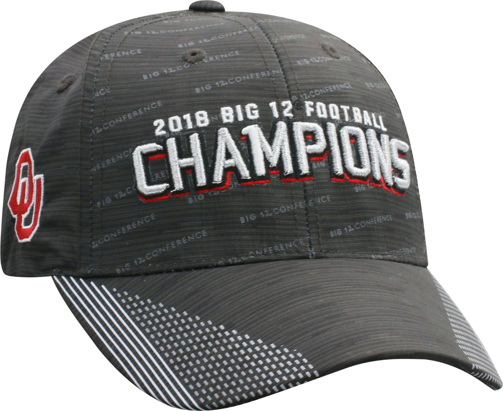 1805b590d73d2 Top of the World Men s 2018 Big 12 Football Champions Oklahoma Sooners  Locker Room Hat