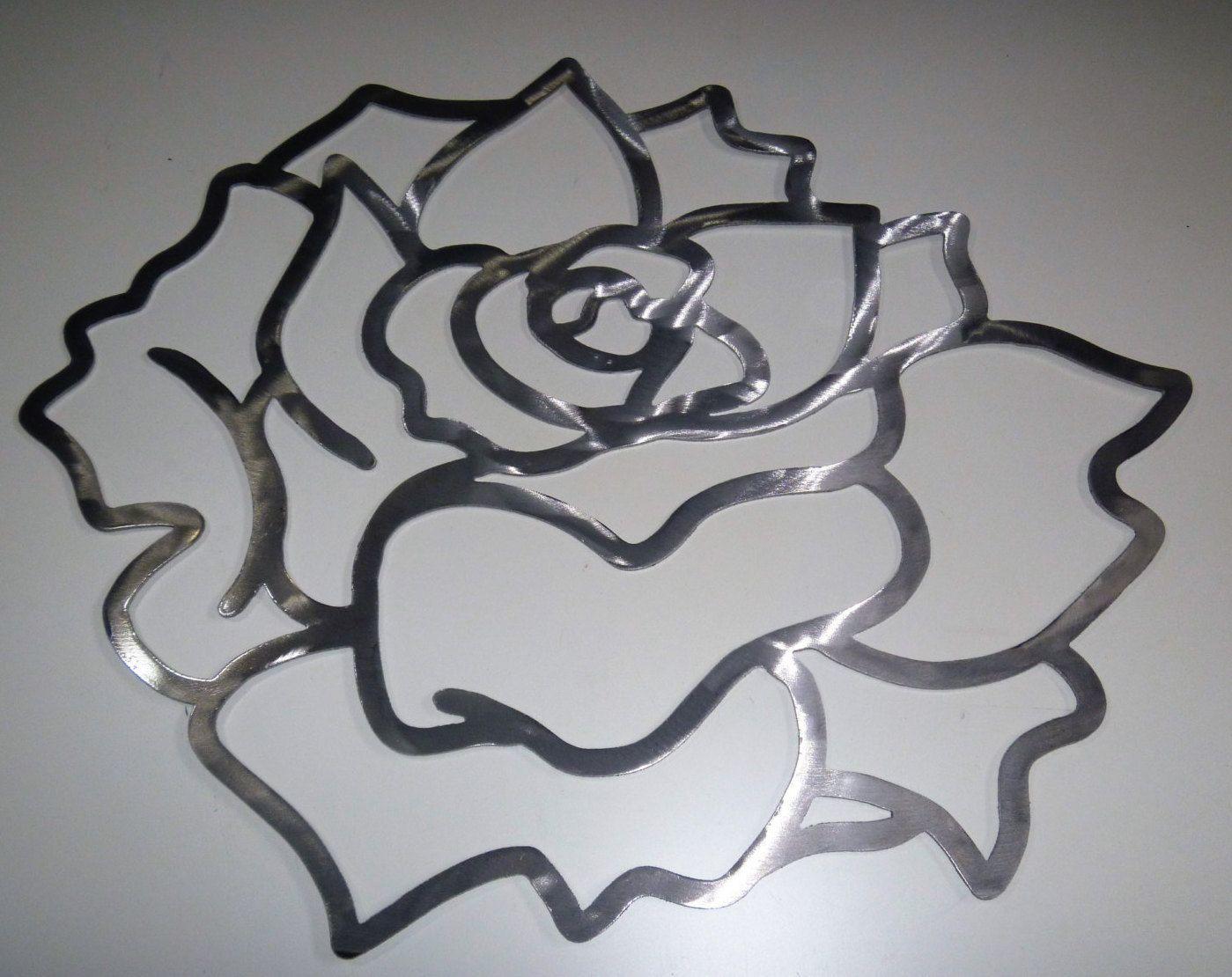 Diy paint project aluminum gardenias flower wall art tropical