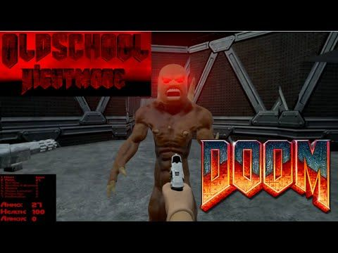 Old School Nightmare Doom 2 Remake Unreal Engine 4 | Neat Game