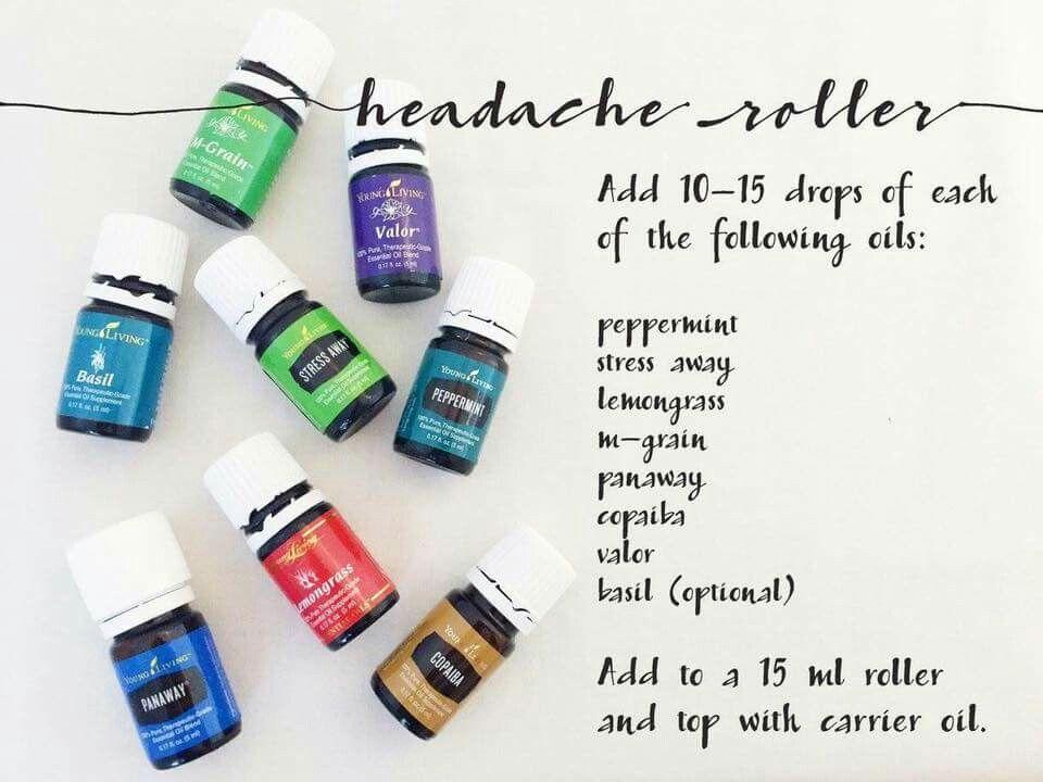 Headache Roller Headache Essential Oil Roller Essential Oils For Headaches Essential Oil Roller Bottle Recipes