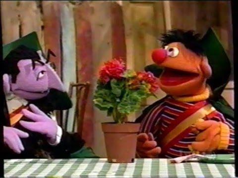 Sesame Street 3909 Ernie Takes On The Count S Job