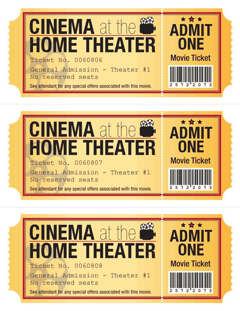 movie ticket pdf google