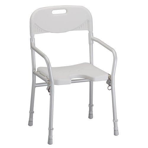 NOVA Medical Products Shower Chair, Foldable With Arms And Back ** Read  More Reviews