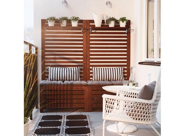 Balcone ikea seduta dream muebles terraza ikea for Ikea panche