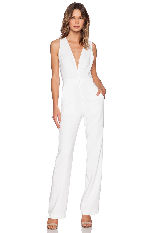 acf0d2594a59 A.L.C. Luree Jumpsuit in White