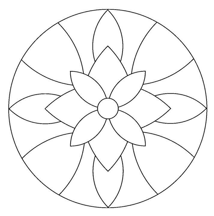 Mandala #mandala #mandalas #coloriage | Bordado | Pinterest ...