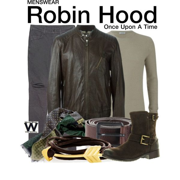 Inspired by Sean Maguire as Robin Hood on Once Upon a Time.
