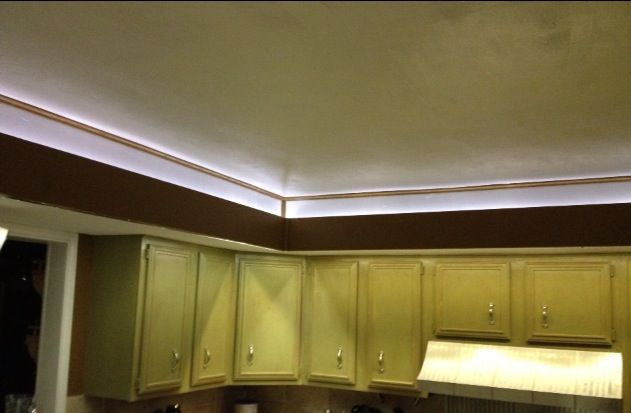 Recessed Lighting Done With Led Rope Lighting Led Rope Lights Rope Light Recessed Lighting