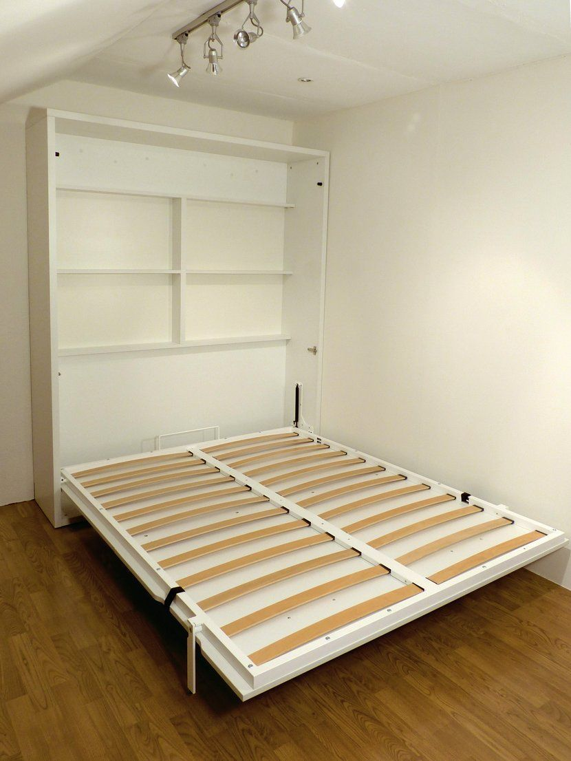 Cama abatible vertical touch versi n con estantes sin for Muebles pepe jesus dormitorios juveniles
