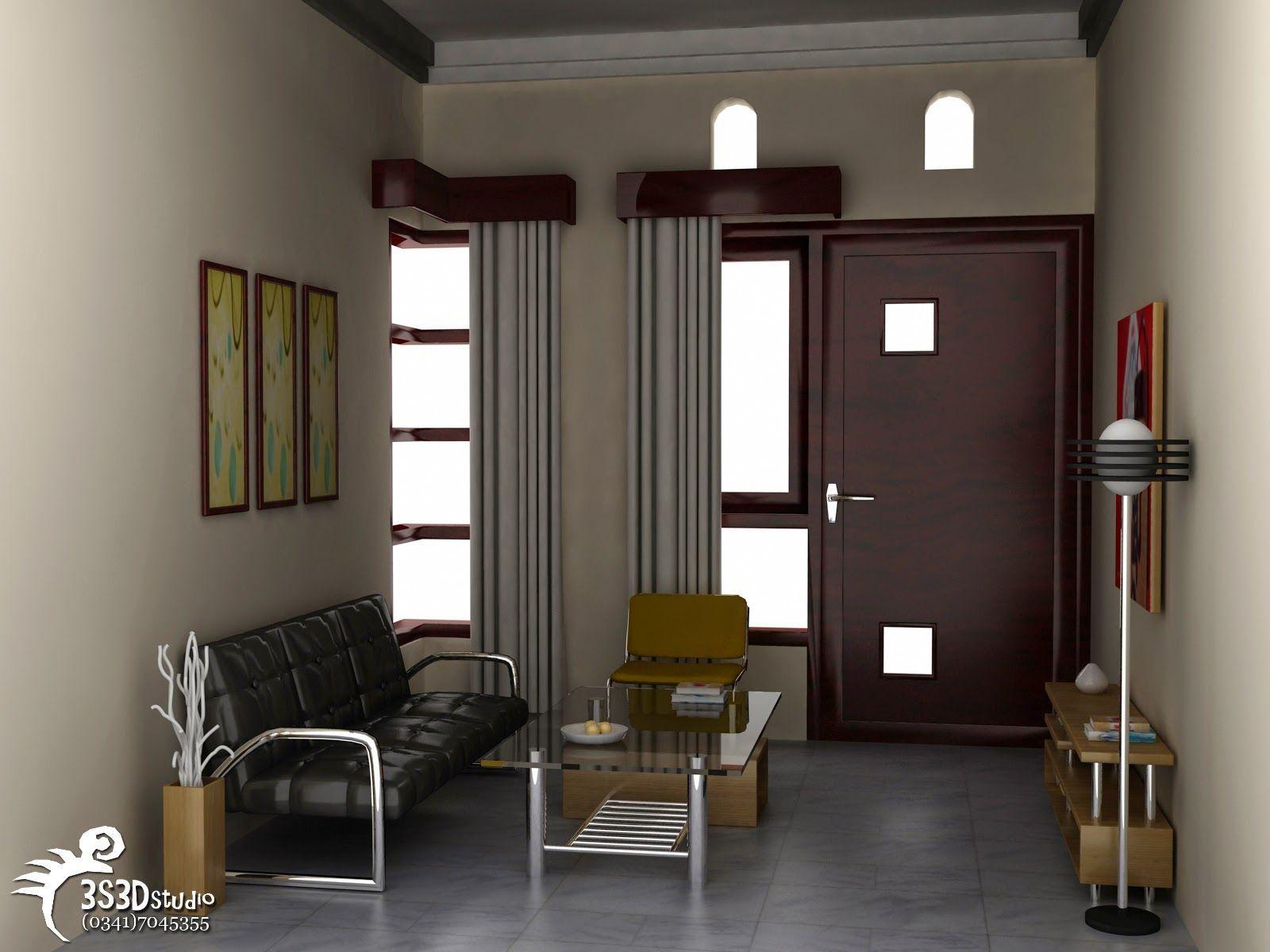 Desain Ruang Tamu Minimalis Type 36 Di 2020 Ruang Tamu Rumah Interior Desain Interior