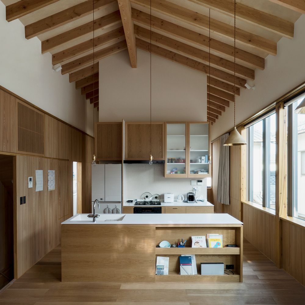 Gallery of housing complex tm schenk hattori 2 for Japanische architektur holz