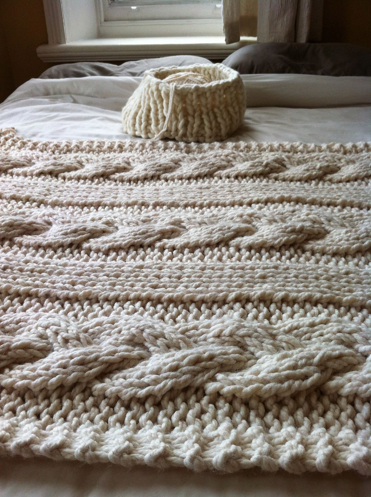 Ravelry: Cable Knit Blanket by Knitting Revolution | crochet ...