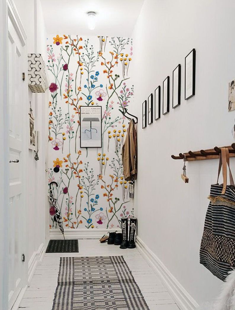 Entryway Excellence Burnett Bungalow Wallpapered Entryway Home Wallpaper Home