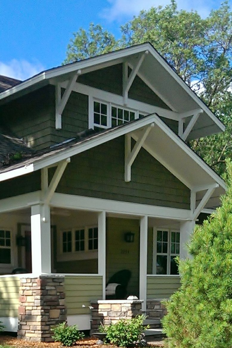 Craftsman Style Home Exteriors Minimalist Remodelling home exterior remodel - cedar shakes, lp smartside trim, window