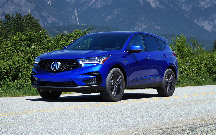 Download Wallpapers Acura Rdx 2019 A Spec 4k Exterior Front View Luxury Sport Suv New Sport Suv Japanese Cars Acura Rdx