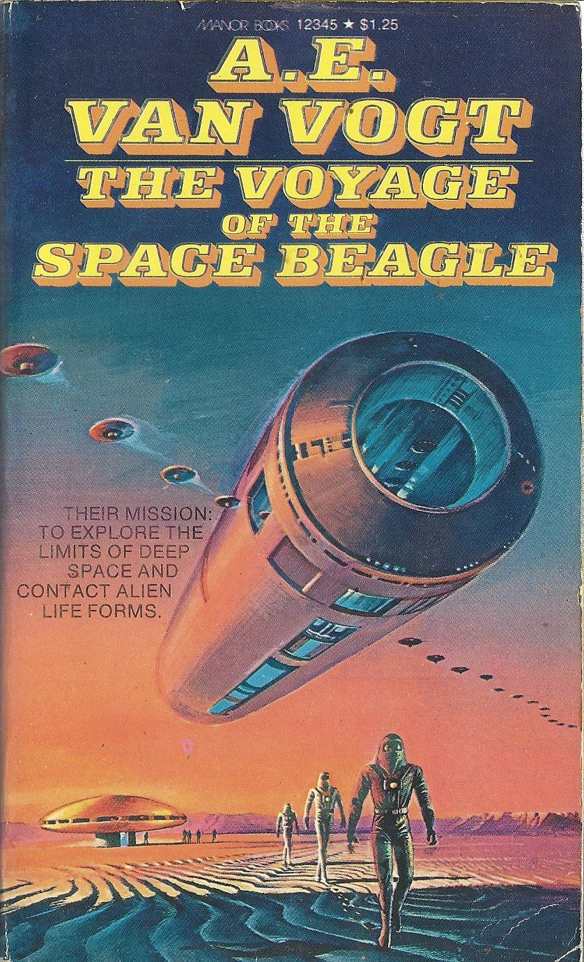 The Voyage Of The Space Beagle Beagle Voyage Vintage Book Covers